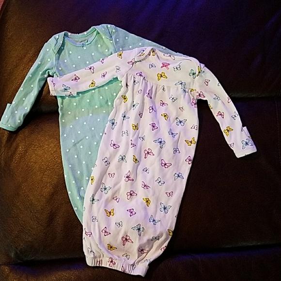 b1bc2f652709 Carter's Pajamas | Carters Baby Girl Sleep Gowns Nb | Poshmark